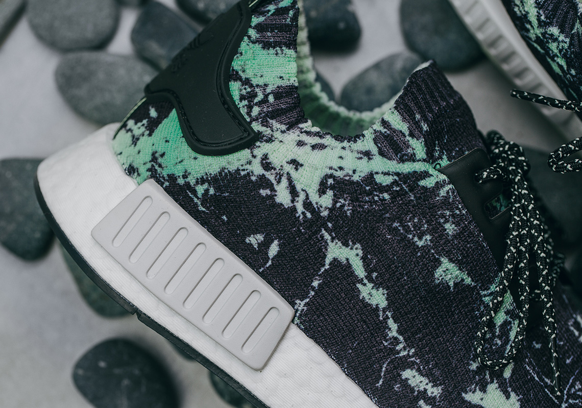 ac1842ceb5c65 adidas NMD R1 Green Marble BB7996 Release Info