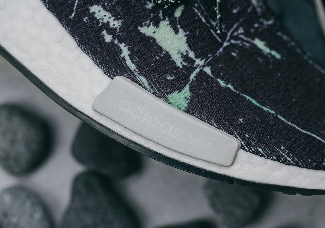 5e151d4af adidas NMD R1 Green Marble BB7996 Release Info