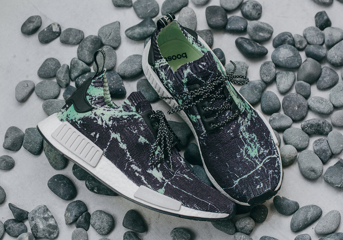 sports shoes 6eec7 f46c3 adidas NMD R1 Green Marble BB7996 Release Info | SneakerNews.com