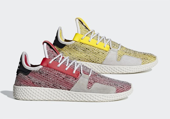 First Look At The Pharrell x adidas Tennis Hu v2