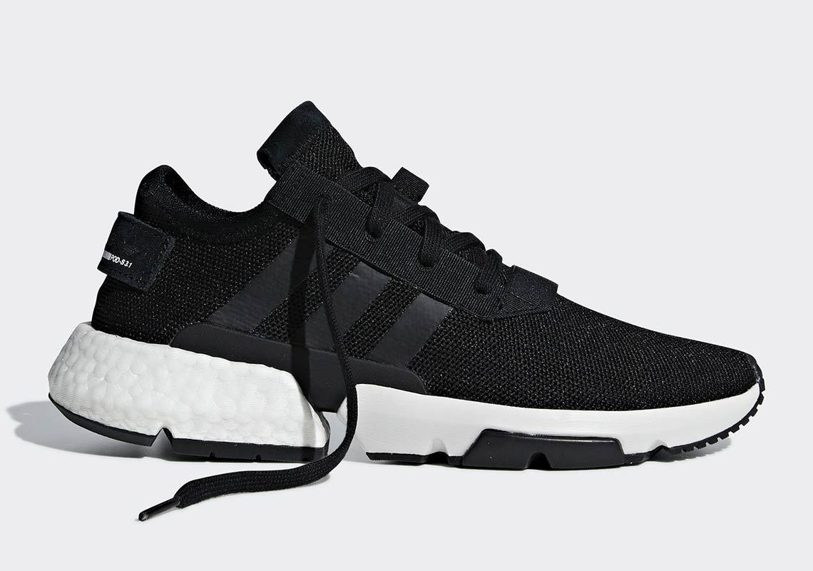 adidas POD S3.1 Black White B3766 Release Info   SneakerNews.com