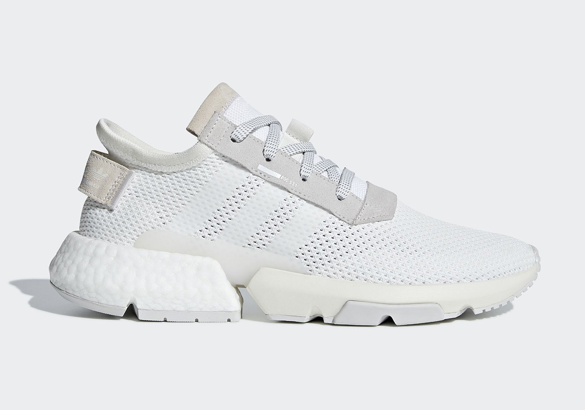"san francisco bfc24 8f695 The adidas POD s3.1 ""Triple White"" Is Coming In August"