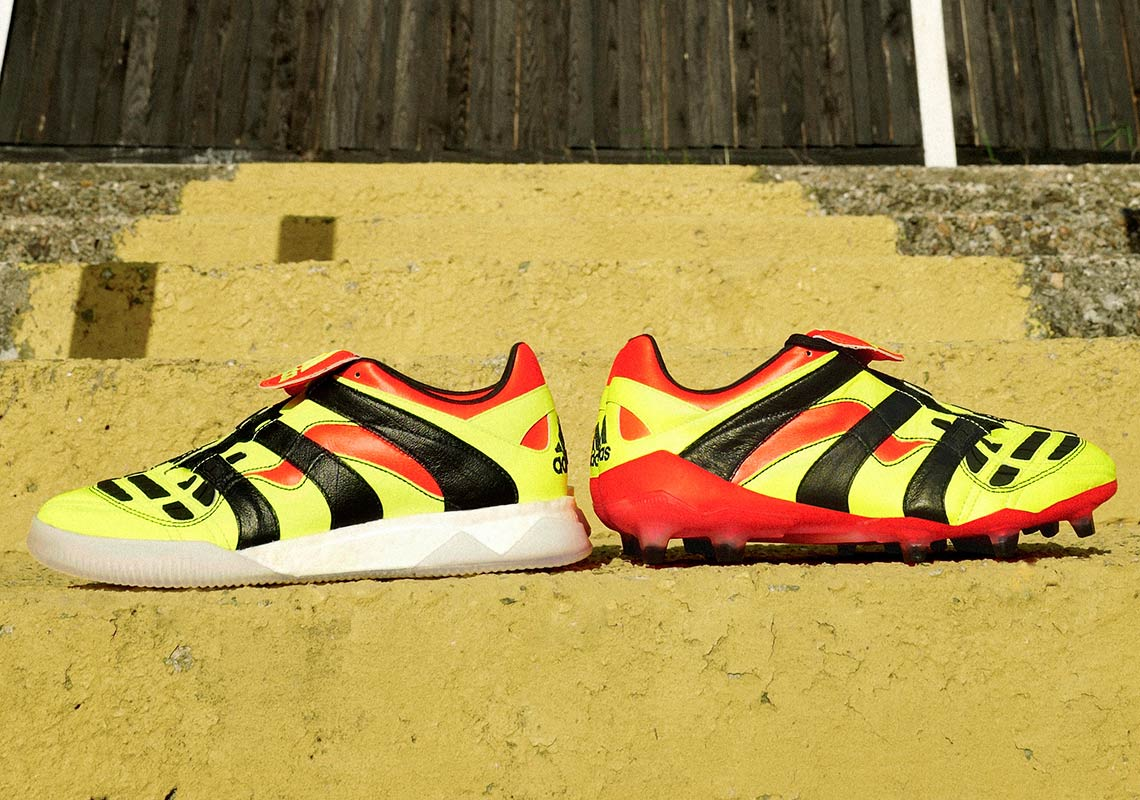 343e6dc50 adidas Predator Accelerator Trainers Release Date: July 5, 2018. COMING  SOON TO adidas $250. Color: Solar Yellow/Core Black/Solar Red Style Code:  CG7051