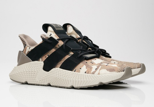 "The adidas Prophere Takes On The ""Desert Camo"" Look"
