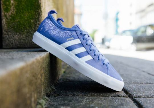 Nora Vasconcellos Receives A Signature adidas Matchcourt RX Colorway