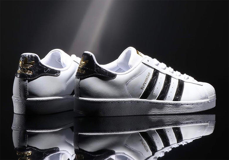 320aa6382d0fe2 adidas Marble Pack Superstar + Stan Smith Available Now ...