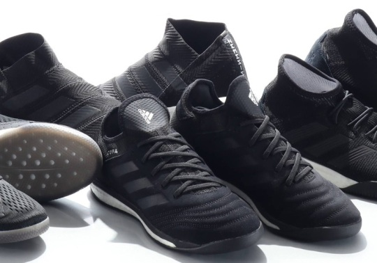 adidas Soccer Releases A Tango 18.1 Collection In Black And White