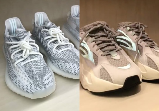 Kim Kardashian Reveals Upcoming adidas Yeezy Samples On Instagram