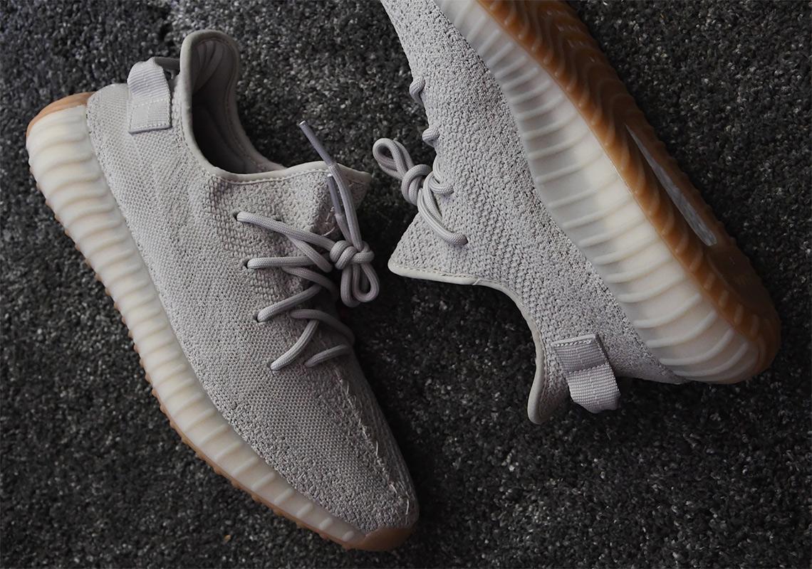 adidas Yeezy Boost 350 v2 Sesame Release Info + Photos ... Jordan 11 Bred On Feet