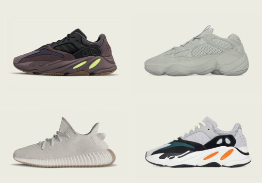adidas Yeezy Restocks And New Releases Coming This Fall