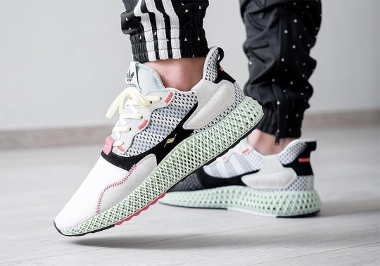 The adidas ZX4000 4D Is Revealed