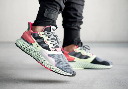 More adidas ZX4000 4D Colorways Are On The Way