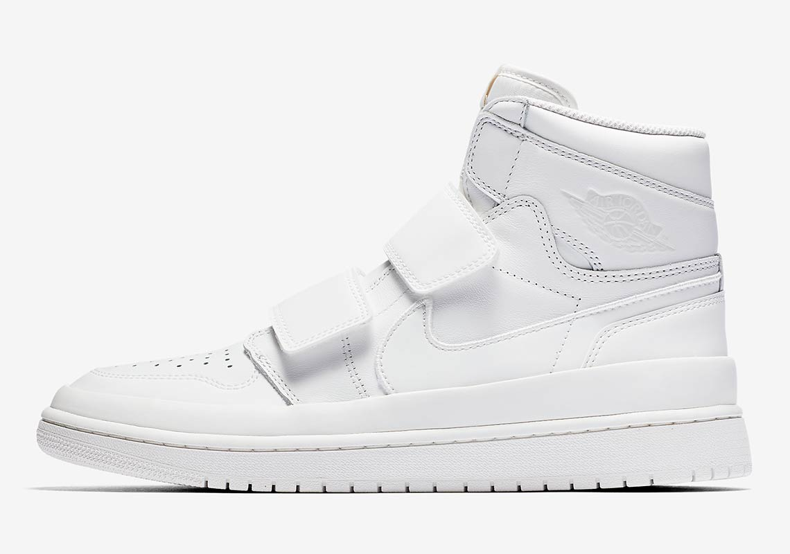 da607cbc9628 Air Jordan 1 High Double Strap White + Black Release Info ...