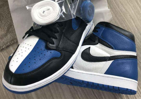 "Air Jordan 1 ""Homage To Home"" Appears In Royal Blue"