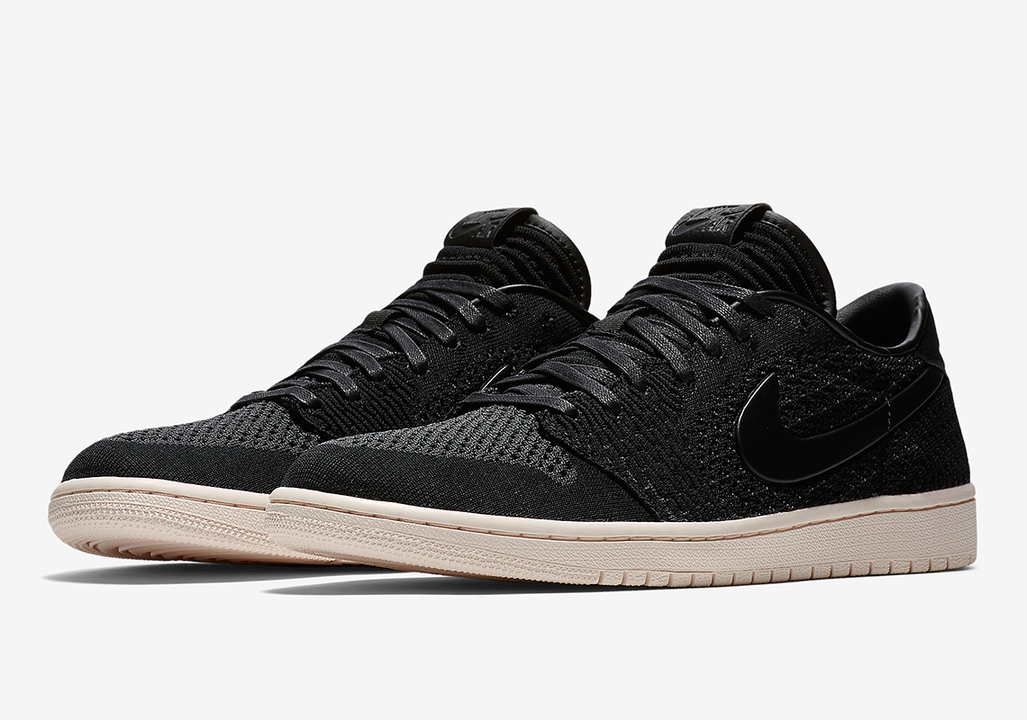 Official Images Of The Air Jordan 1 Low Flyknit