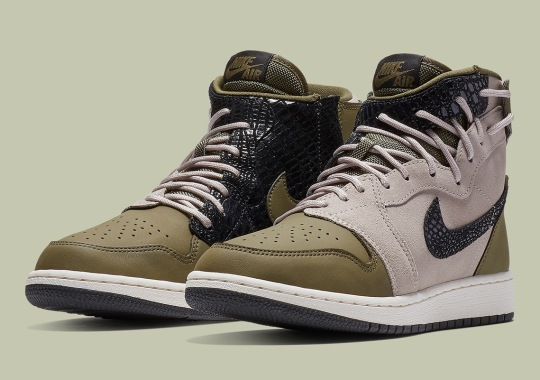 The Air Jordan 1 Gets Extra Rebellious With Reptile Prints