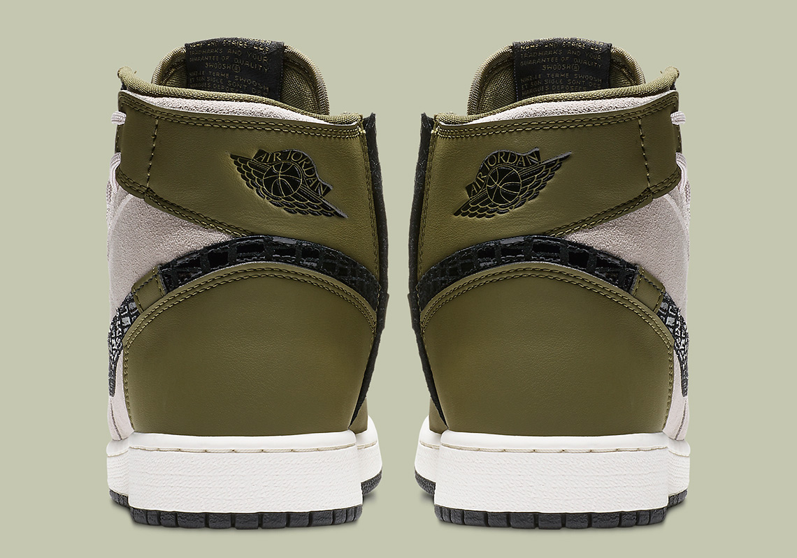 3fec9ad1783 Air Jordan 1 Rebel XX Available Now on Nike.com  145. Color  Olive Canvas Moon  Particle Black Style Code  AR5599-300. show comments