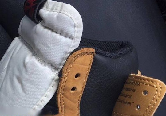 "Air Jordan 1 Retro High OG ""Ginger"" Features Hidden Message"