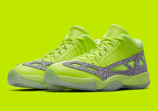 "Air Jordan 11 Low IE ""Highlighter"" In Volt"