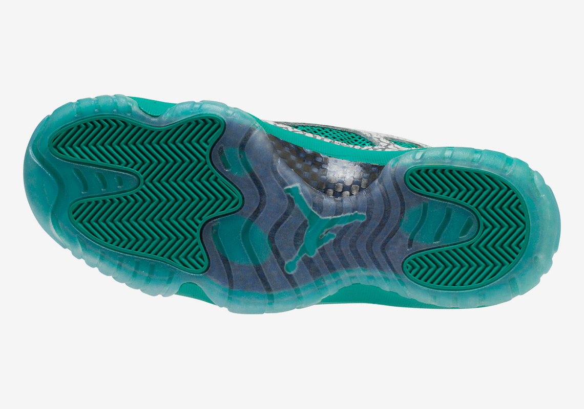 """2ff35c32743e7f ... Jordan 11 Low IE """"Rio Teal"""". Jimmy JazzAvailable  Shoe PalaceAvailable.  Advertisement. Advertisement"""