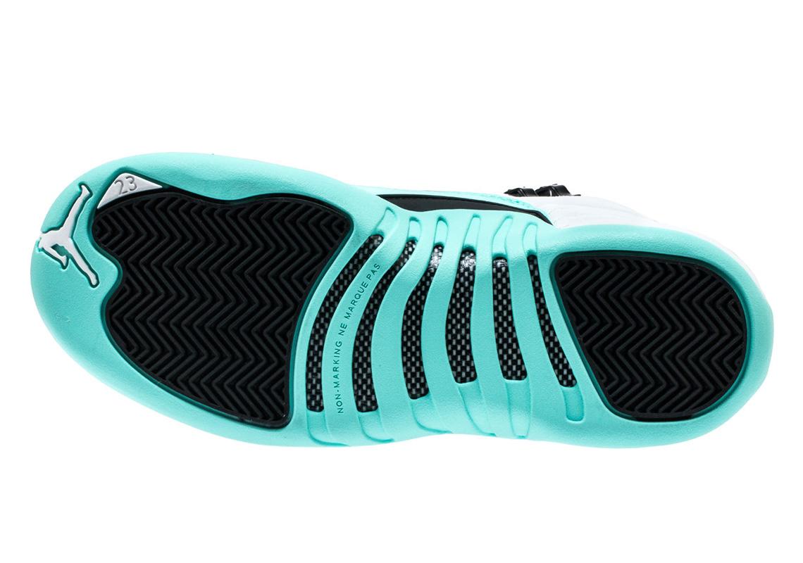 super popular caf9a be509 Air Jordan 12 Grade School Light Aqua 510815-100   SneakerNews.com