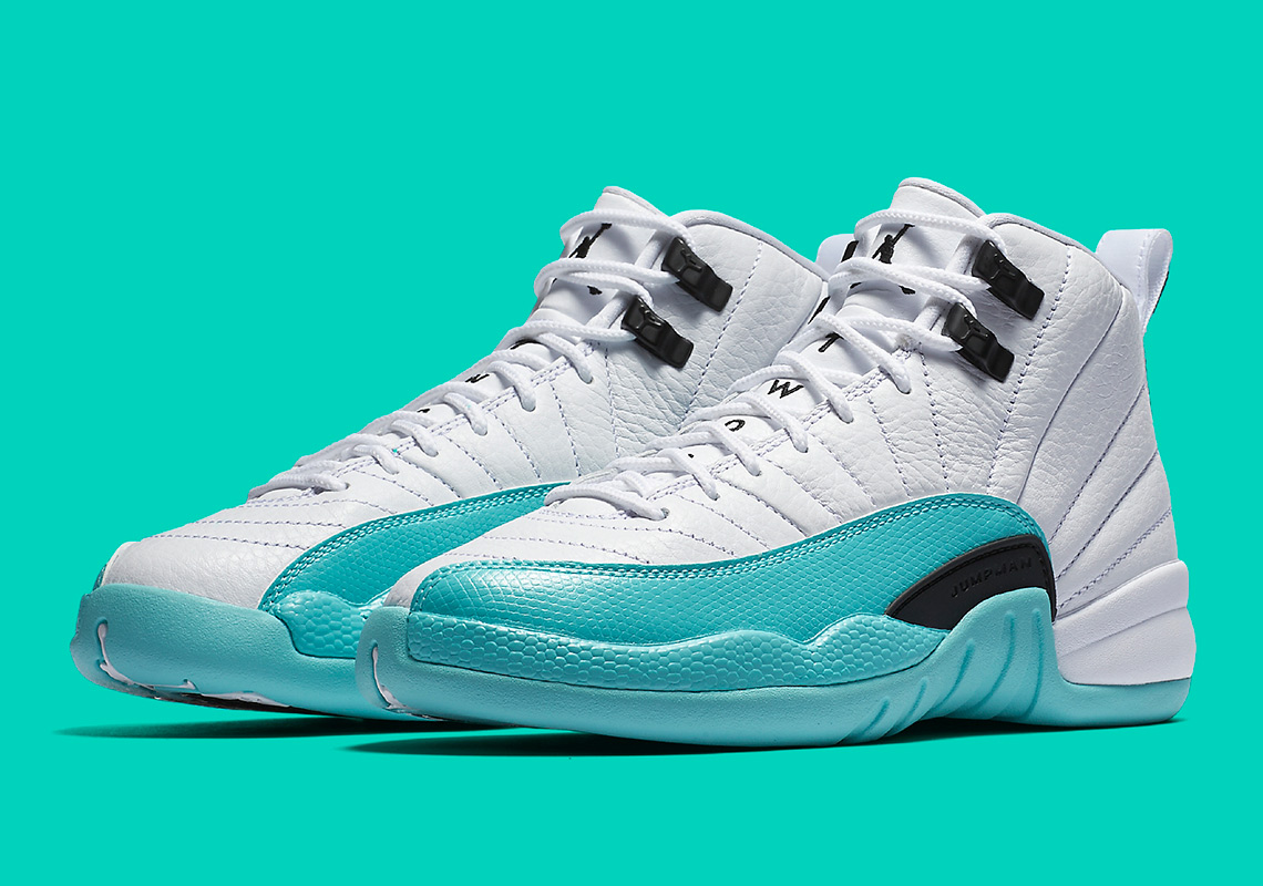 423b8eaab1d0 Where To Buy Air Jordan 12 Light Aqua 510815-100