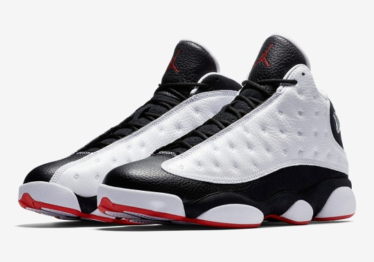 "Official Images Of The Air Jordan 13 ""He Got Game"""