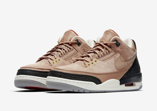 "57d8949f463 Official Images Of The Air Jordan 3 JTH ""Bio Beige"""