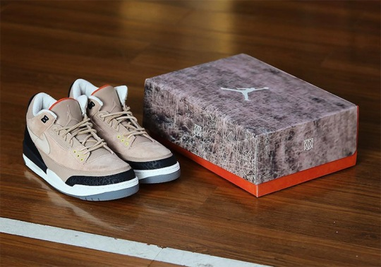 "Custom Box To Come With Justin Timberlake's Air Jordan 3 ""Bio Beige"""