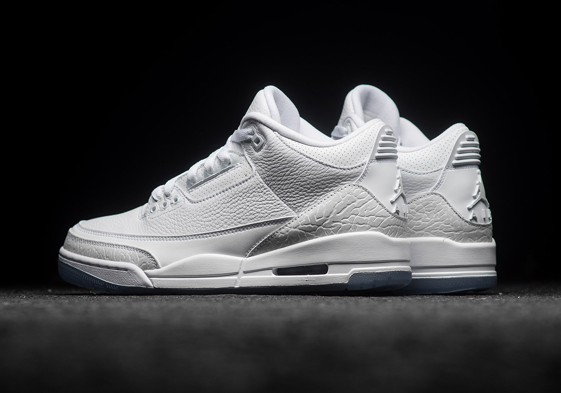 2dfd5ea2cdc260 Where To Buy Air Jordan 3 Pure White 136064-111