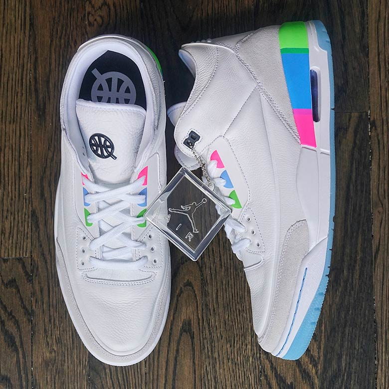 sale retailer a9113 e3533 Air Jordan 3 Quai 54 Friends And Family White   SneakerNews.com