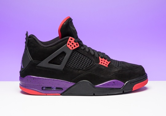 "Air Jordan 4 ""Raptors"" Releases On August 18th"