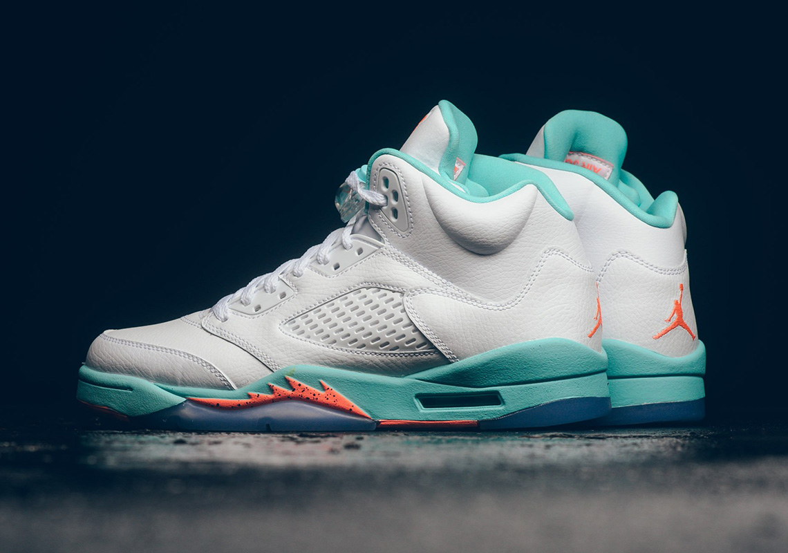 "6aec363cc70a Where To Buy The Air Jordan 5 ""Light Aqua"""