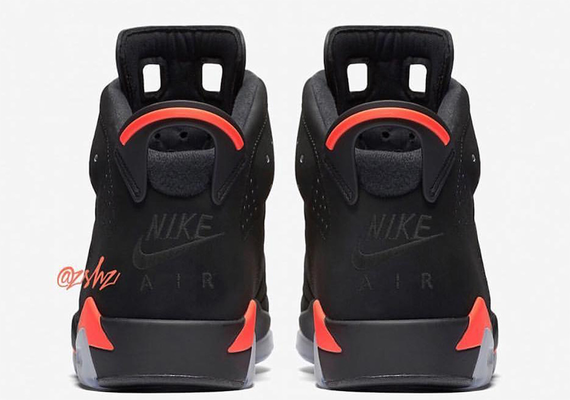 16242b46c5881d ... promo code for air jordan 6. release date february 16th 2019. color  black infrared