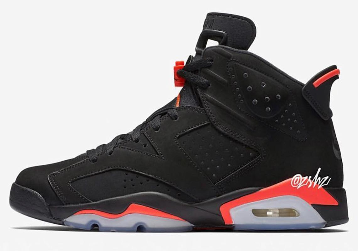 ee1f500389 Air Jordan 6 Black Infrared 384664-060 Release Date