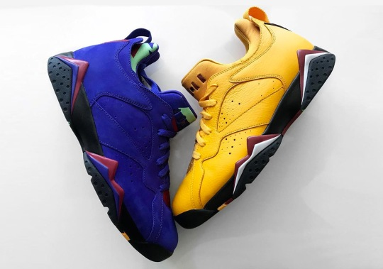 Two More Air Jordan 7 Low Colorways Have Surfaced