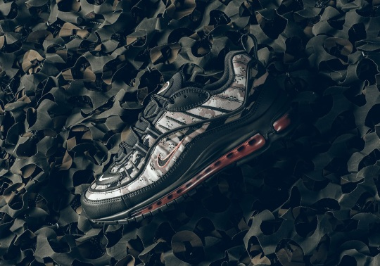 "The Nike Air Max 98 ""Desert Camo"" Is Available Now"