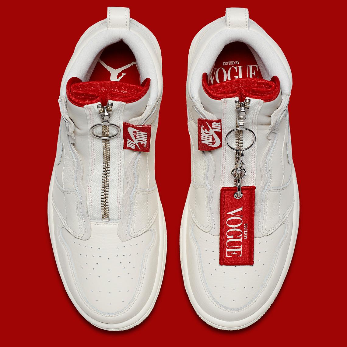 finest selection 0c516 881af Anna Wintour x Air Jordan 1 High Zip AWOK Release Date  July 23rd, 2018   220. Style Code  BQ0864-106. Advertisement. Advertisement