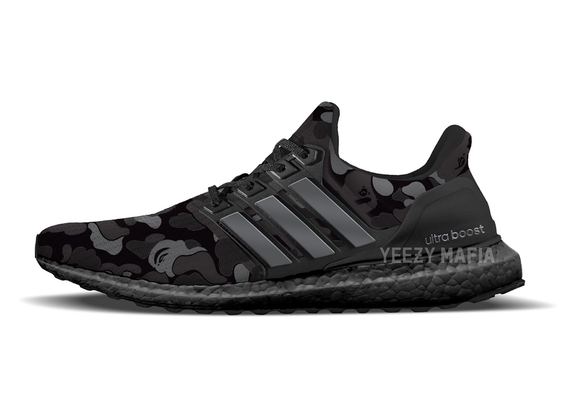 sports shoes 272e7 0461c BAPE x adidas Ultra Boost Coming In 2019
