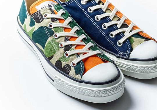 Billy's Tokyo And Converse Join Forces For A Colorful Made In Japan Chuck Taylor