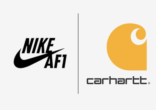 Carhartt And Nike Team Up For Two Rugged Air Force 1s