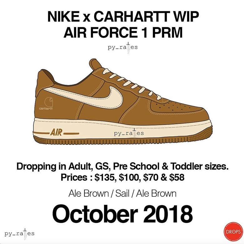 81302761 ... and stay tuned to our Sneaker Release Dates page for more updates on  both collaborative kicks as they're available. Advertisement. Carhartt WIP  x Nike ...