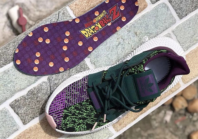 separation shoes 51fde ecf45 Dragon Ball Z adidas Prophere Cell First Look  SneakerNews.c