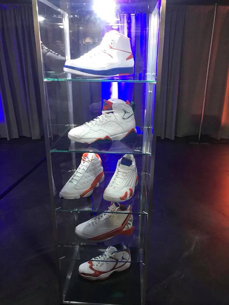 0c49ca614d8793 The Florida Gators Unveil An Air Jordan PE Collection In Orange And Blue