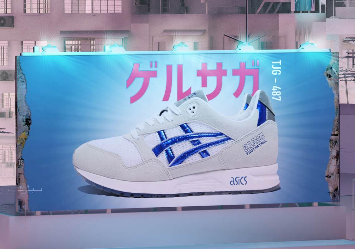 online store b272b 6808c Foot Patrol Asics Gel Saga Gundam Release Info | SneakerNews.com