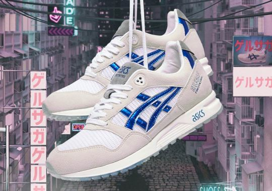 Foot Patrol's ASICS GEL-Saga Is Inspired By Classic Anime