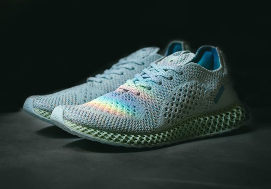 """Detailed Look At The Invincible x adidas Consortium 4D """"Prism"""""""