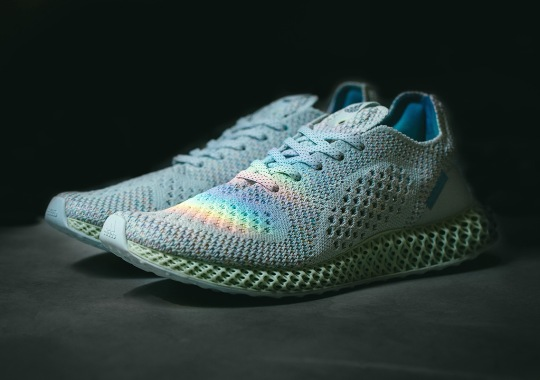 "best sneakers 8f2b0 50aa1 Detailed Look At The Invincible x adidas Consortium 4D ""Prism"""