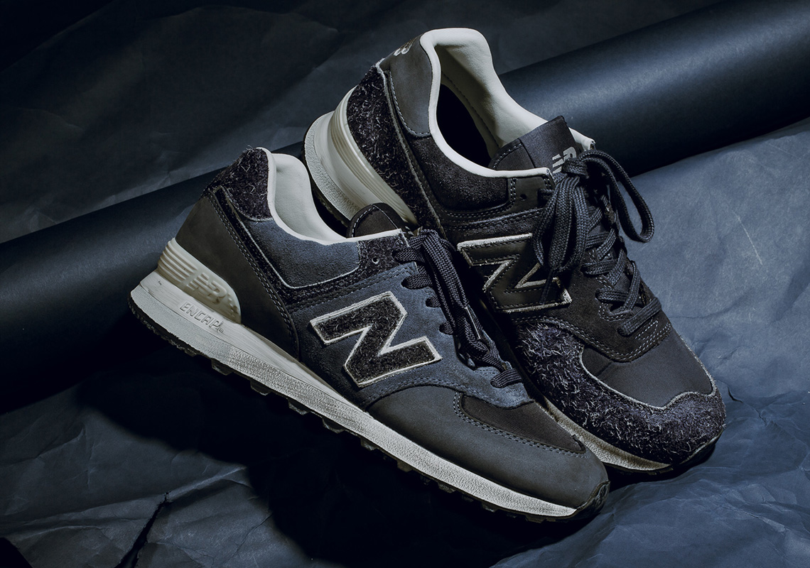 Invincible Mixes And Matches Materials For The New Balance 574