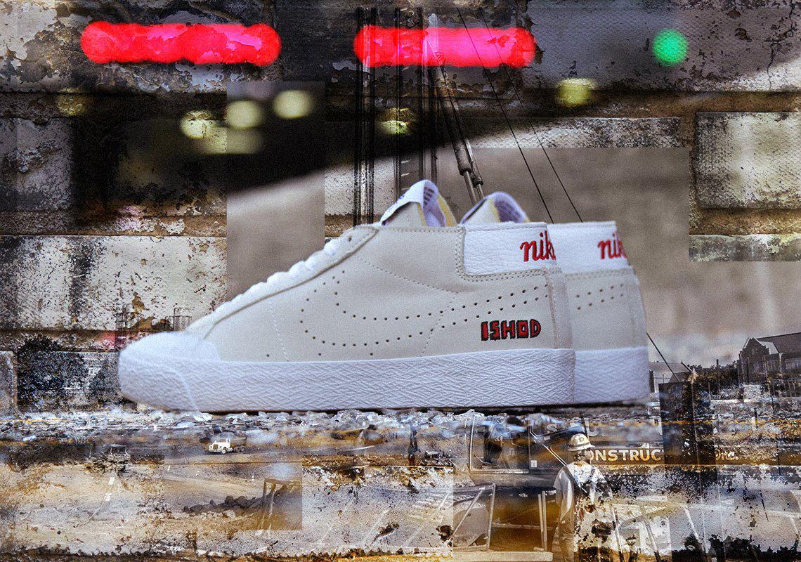 new arrivals c0c8c abb39 Ishod Wair Nike SB Blazer Chukka AR5410-161 Available Now ...